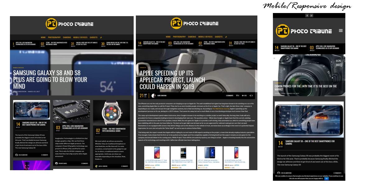 Seo and Mobile Responsive Web Design